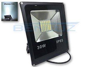 Refletor de LED 30W - Branco Frio A prova d'aguá