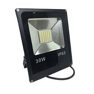 Refletor Holofote De LED 30W - Azul  A Prova d'água