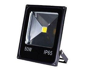 Refletor Holofote de LED 50W Vermelho A Prova d'água