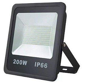 Refletor Holofote De LED 200W - Branco Frio A Prova d'água