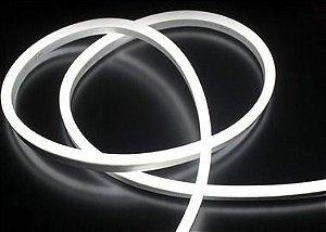 Fita LED Tubo Neon Branco Frio Blindada 5M 12V