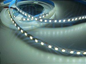 Fita 120 LEDs por Metro 3528 Branco Frio Com Silicone IP20 5M