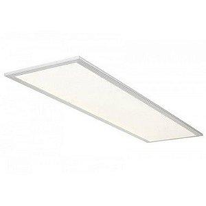 Luminária Painel Plafon LED 24W de Embutir 32X62 Branco Quente