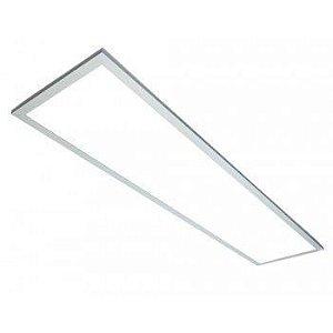 Luminária Painel Plafon LED 45W de Embutir 32x122 Branco Frio