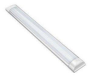 Luminária LED Linear de SOBREPOR 72W - BRANCO QUENTE 240 CM