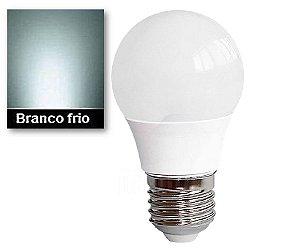 LÂMPADA BULBO LED 7W BRANCO FRIO 6500K