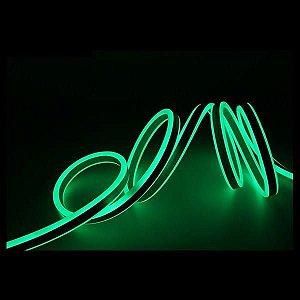 Mangueira Neon De LED Flexível - Por Metro Verde