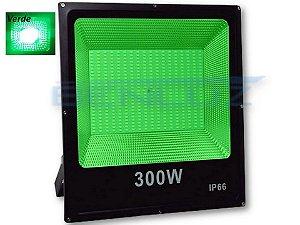 Refletor Holofote De LED 300W - Verde A Prova d'água