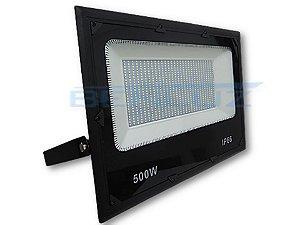 Refletor Holofote De LED 500W - Branco Frio A Prova d'água