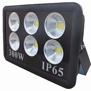 Refletor Holofote De LED Com Lente 300W  Branco Frio - IP65