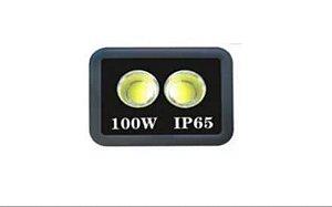Refletor Holofote De LED Com Lente 100W Branco Frio - IP66