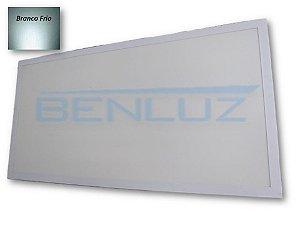 Luminária Painel Plafon LED - 96W de Embutir 1,20x60 Branco Frio