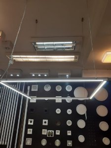 Painel LED 60x60 - Quadrado Pendente