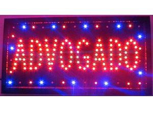 Painel Letreiro LED Sing - Advogado