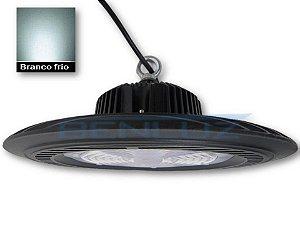 Luminária LED 100W UFO Industrial High Bay Branco Frio