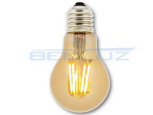Lâmpada Filamento LED 3,2W A60 Bivolt