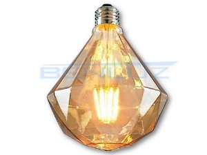 Lâmpada LED 5W G95D Filamento Bivolt