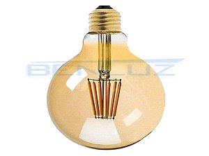Lâmpada LED 7W G125 Filamento Bivolt