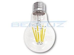 Lâmpada Bubo LED 6W A60 Filamento Branco Frio Bivolt