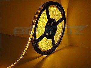 Fita LED SMD 14,4W 5M 5050 Amarela Sem Silicone 12V IP20