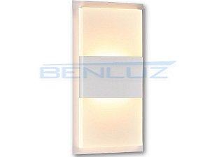 Arandela 10×20×a5cm Aluminio Aclirico LED 12W 3000k 920lm Bivolt