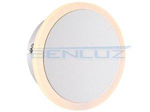 Arandela Φ16×a5cm Aluminio Aclirico LED 7W 3000k 620lm Bivolt