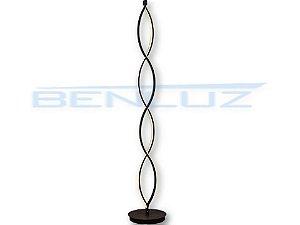Coluna 22×142cm Metal e Silicone Led Marrom 46w 3000k Bivolt