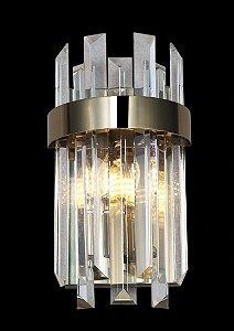Arandela 18×33cm Cristal E14×2