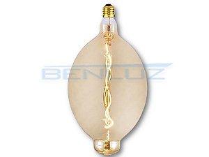 Lâmpada Filamento LED 4W BT180 Branco Quente 2200K