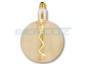 Lâmpada Filamento LED 4W G200 Branco Quente 2200K