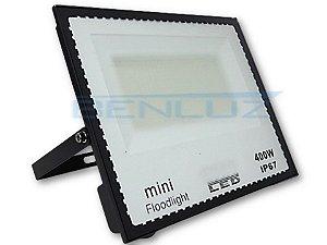 Mini Refletor Holofote De LED 400W Branco Frio Floodlight A Prova d'água