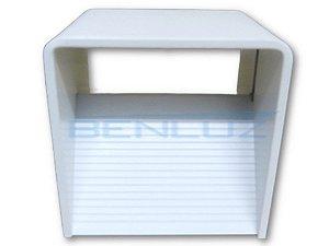 Luminária LED Arandela 5W Cubo Branco Quente 3000K