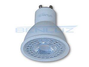 Lâmpada Dicroica LED 5W Bocal GU10 Branco Quente 3000K