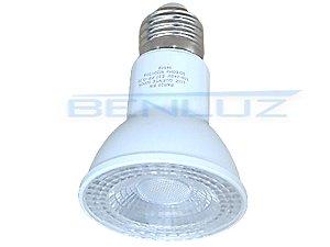 Lâmpada LED PAR20 8W Branco Quente 3000K