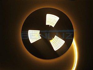 Mangueira Neon de LED Dupla 5 Metros Branco Quente 12V