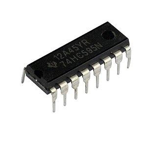 CI 74HC595 - Registrador de Deslocamento