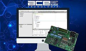 Curso Microcontroladores PIC18f - Pacote Didático