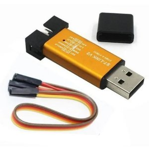 Gravador STM8 STM32 - ST-Link V2 Mini