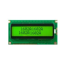 Display LCD 16 X 2 Com Backlight, Fundo Verde (AGM 1602W-203)