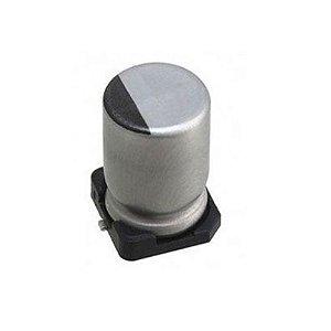 Capacitor Eletrolitico 47uf/16V SMD 105 (5x6,1mm) - 20 Peças