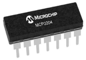 Conversor Analógico Digital Mcp 3204 (12 Bits)