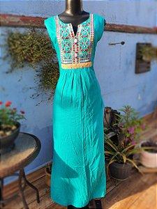 Vestido EVEG Turquesa
