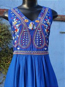 Vestido Azul Lápis Lazuli
