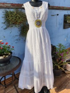 Vestido MAKX MONEY SO MI Branco (modelo único) GG