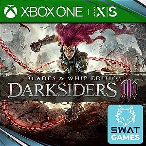 Darksiders III Blades & Whip Edition (03 Jogos com todas as DLCs)