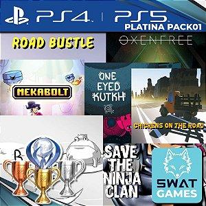 Platina Pack 01 - PS4 e PS5