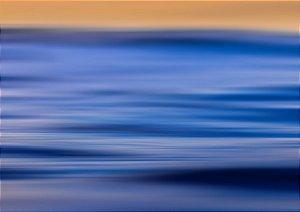 Fotografia em longa exposição praia da Baleia