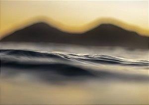 Praia da Baleia no fim de tarde