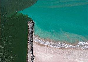 Dique de Cabedelo - Encontro do rio com o mar