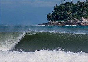 Esquerda canto grosso, Praia do Pernambuco